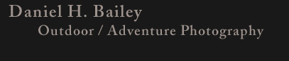 Dan Bailey Adventure Stock Photography